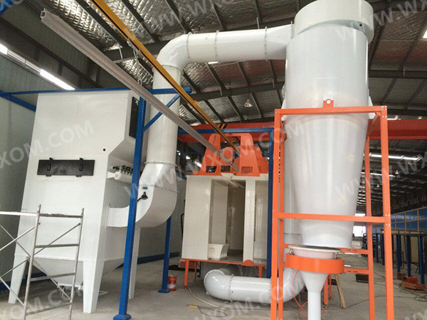 自动粉末回收系统7