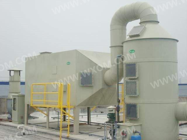 喷淋洗涤塔2